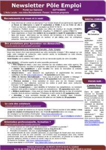 Newsletter-pole-emploi Portet sur Garonne-septembre 2018v2-page-001