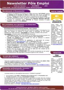 Newsletter-pole-emploi Portet sur Garonne-décembre 2018-page-001