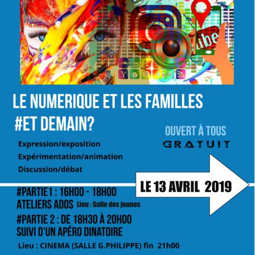 numériq et Familles 13 avril Cintegabelle