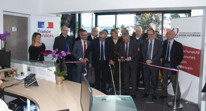 Inauguration de la Maison France Services du Bassin Auterivain (CCBA)