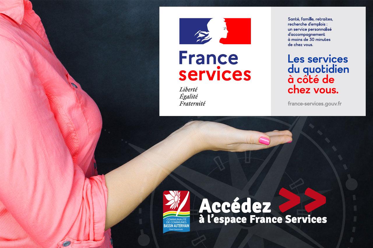 Accéder à l'espace France Services de la CCBA