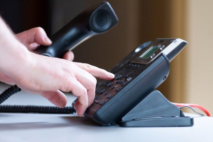Prise de contact téléphonique